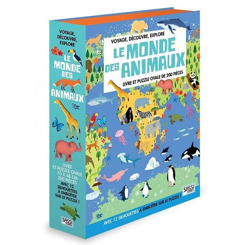 """Puzzle """"Le monde des animaux  ☆ SASSI"""