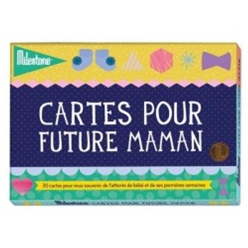 Cartes photos pour futures mamans ☆ MILESTONE