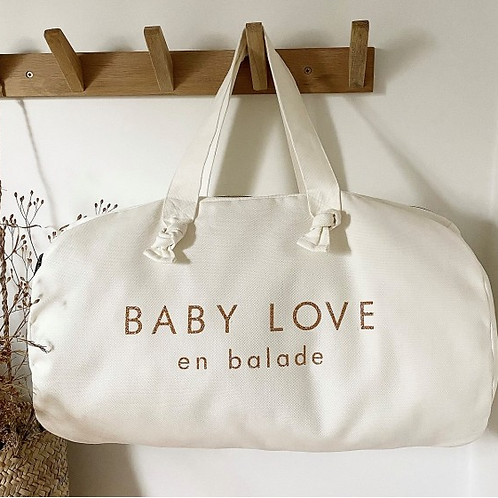 """Sac polochon """"Baby Love"""" ☆ MARCEL &LILY"""