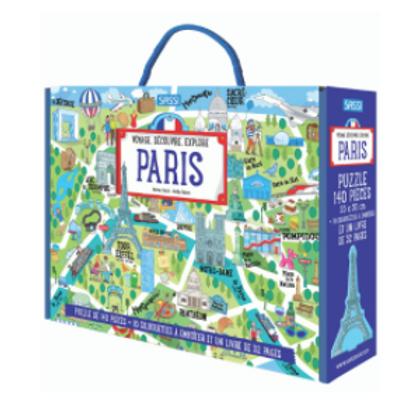 """Puzzle""""Paris"""" ☆ SASSI"""