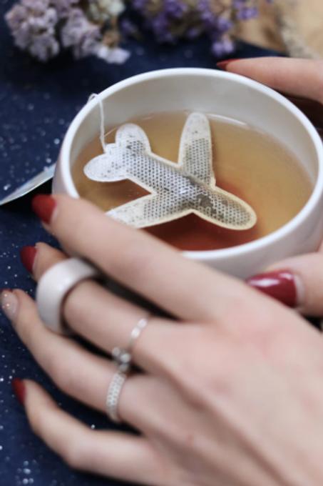 """Sachet de thé """"AVION"""" ☆ Tea Heritage"""