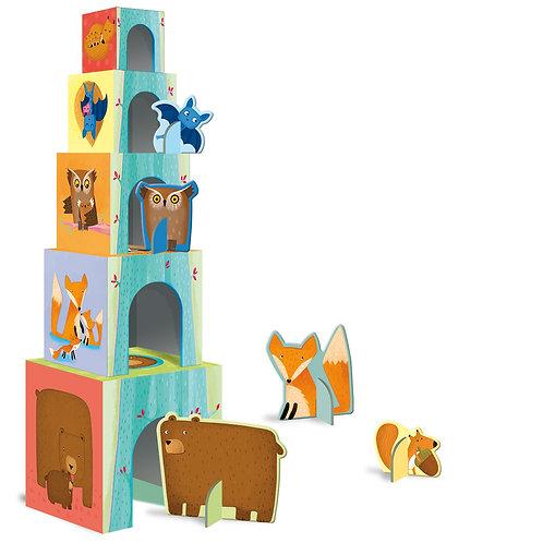 """Cubes""""Les bébés animaux de la Forêt"""" ☆ SASSI"""