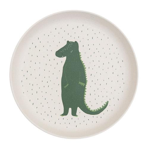 Assiette Crocodile vert foncé ☆ TRIXIE