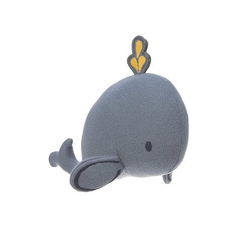 """Hochet tricoté """"Baleine"""" ☆ LASSIG"""