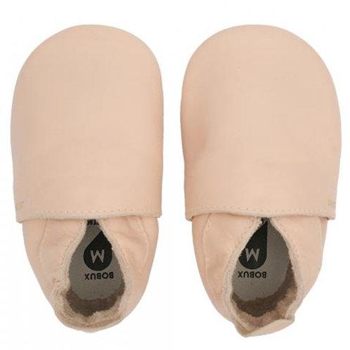Chaussons en cuir soft soles - Simple Shoe Rose ☆ BOBUX