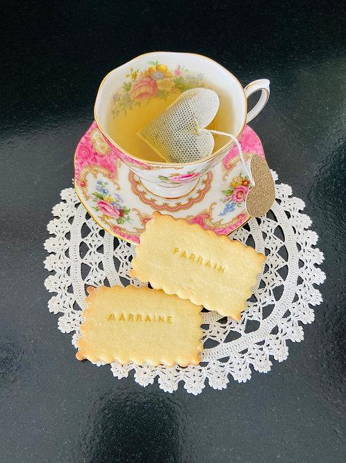 Biscuits Parrain ou Marraine ☆ EMY BISCUIT