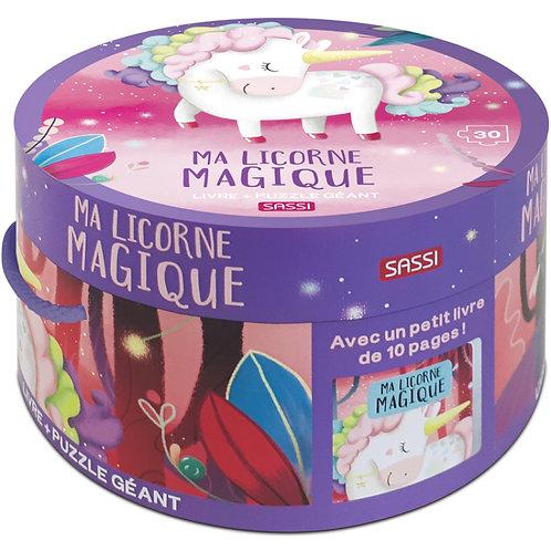 Puzzle Ma licorne magique ☆ SASSI