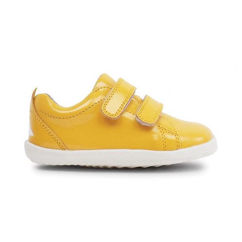 Baskets grass court step up jaune vernis BOBUX