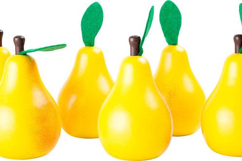 """Fruit/Légume en bois """"POIRE"""""""