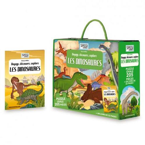 Puzzle Les dinosaures ☆ SASSI