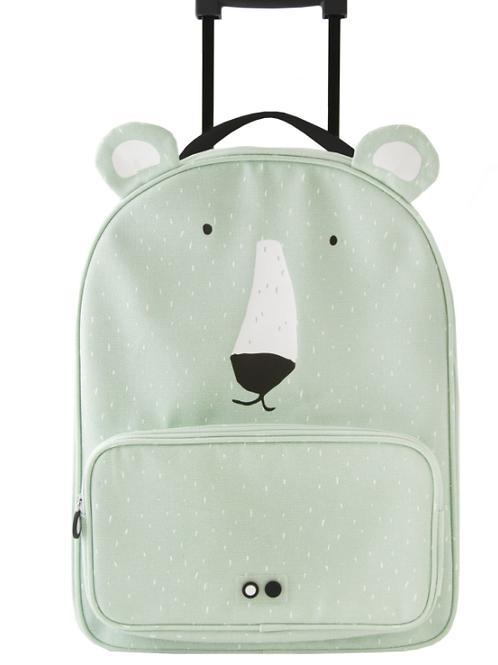 """Valise à roulette enfant """"ours"""" ☆ Trixie"""