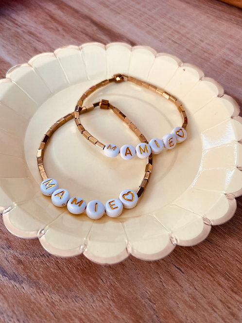 "Bracelet ""Mamie"" ☆ SO CUTE WORLD"