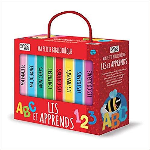 """Ma petite bibliothèque """"Lis et apprends"""" ☆ SASSI"""