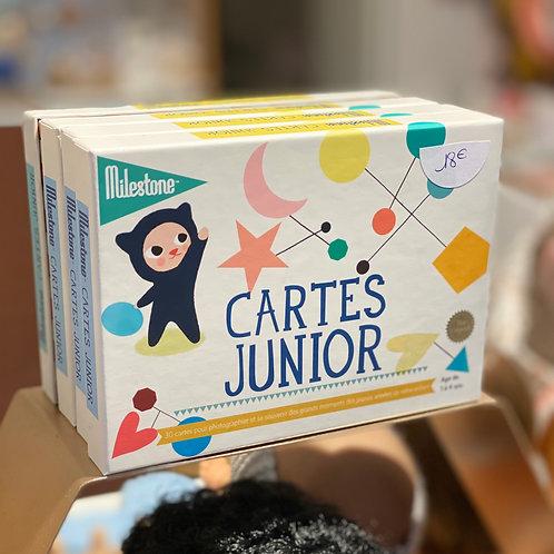 Cartes junior ☆ MILESTONE
