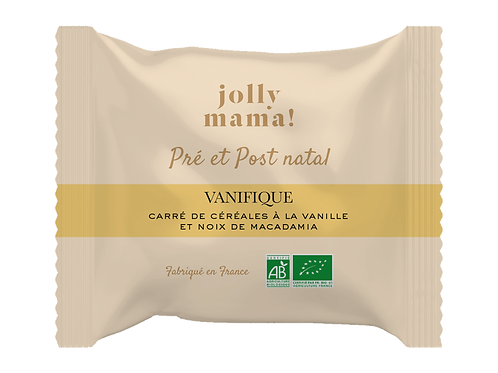 """Carré de céréales """"Vanifique"""" ☆ JOLLY MAMA"""
