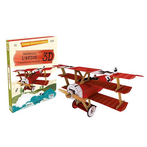 Construis L'avion 3D