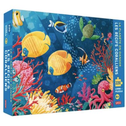 """Puzzle""""Les récifs coralliens"""" ☆ SASSI"""