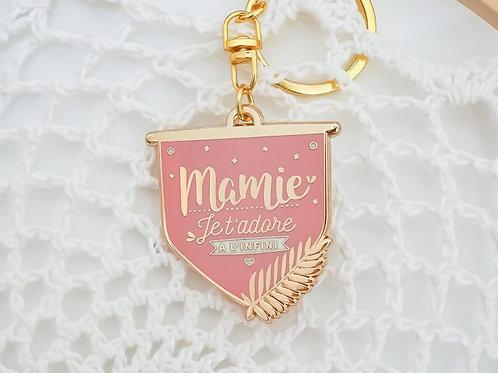 "Porte-clef ""Mamie"" ☆ Manahia"