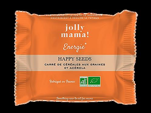 "Carré de céréales ""Happy Seeds"" ☆ JOLLY MAMA"