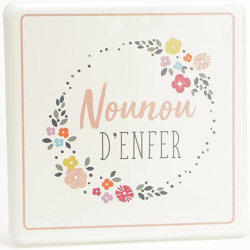 """Plaque décorative """"Nounou"""" ☆ AMADEUS"""