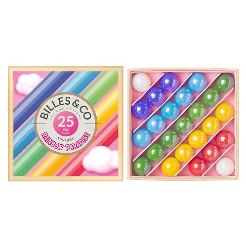 """Boite de billes """"Rainbow Paradise"""" ☆ BILLES & CO"""