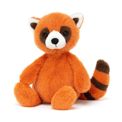 Panda rouge whispit JELLYCAT