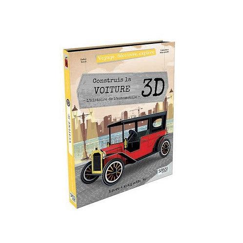 Construis La voiture 3D
