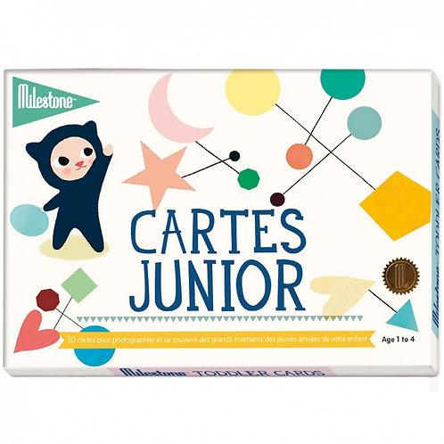 Cartes photos junior ☆ MILESTONE