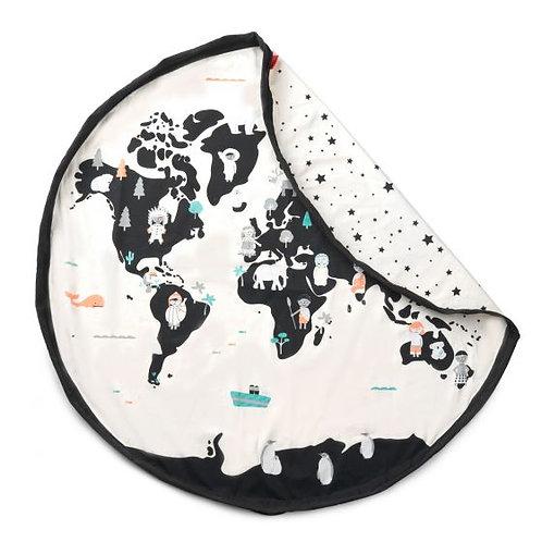 "Tapis/sac à jouet ""World map"" PLAY&GO"