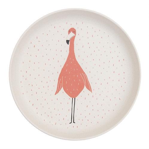 Assiette Flamingo ☆ TRIXIE