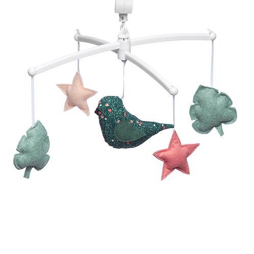 "Mobile musical ""oiseau flock"" ☆ POUCE ET LINA"