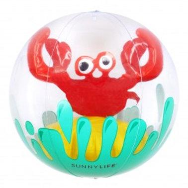 Ballon de plage crabe SUNNYLIFE