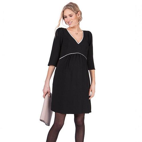 Robe de grossesse Noire SERAPHINE