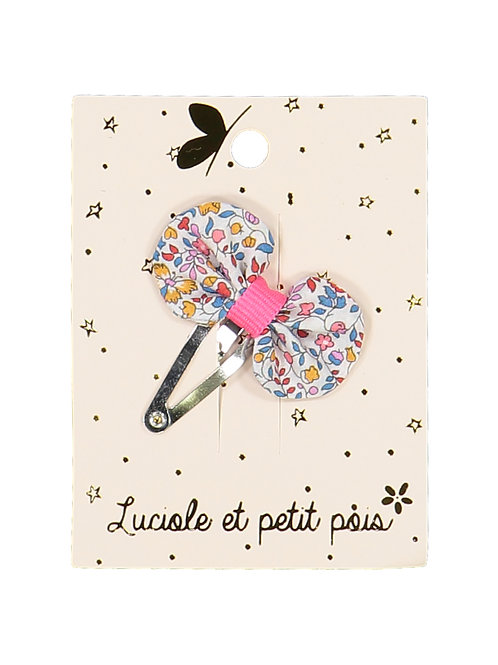 Barrette mini pétale Liberty Katie & Millie Carnival ☆ LUCIOLE ET PETIT POIS