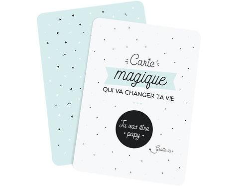 "Carte à gratter ""Papy"" ☆ Manahia"