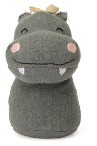 Hochet Hippopotame ☆ Picca Loulou