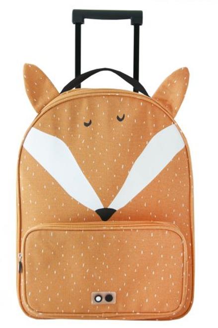 """Valise à roulette enfant """"renard"""" ☆ Trixie"""