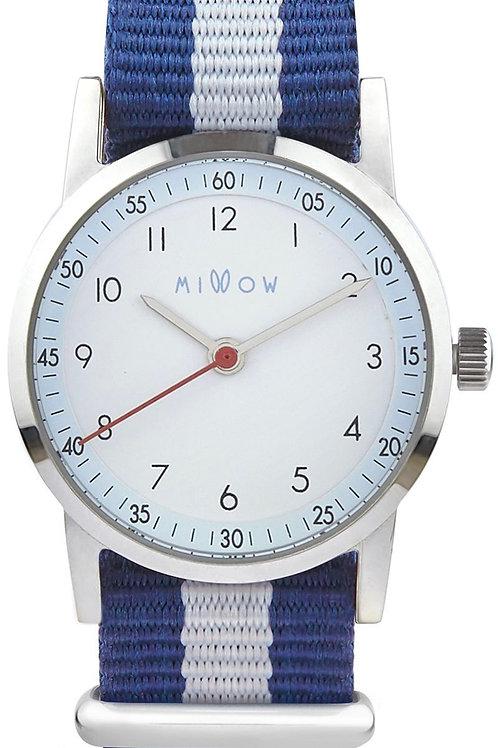 Montre Ciel tressée Blue Stripe ☆ Millow