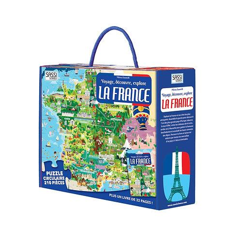 Puzzle La France SASSI