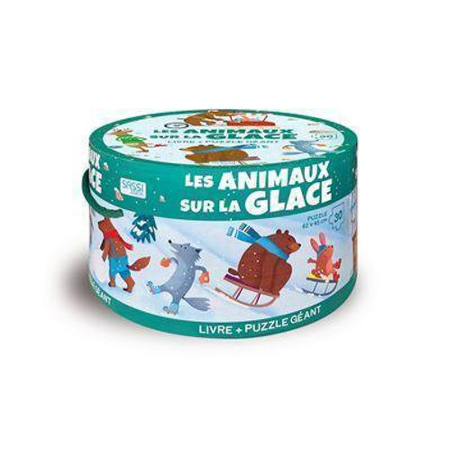 """Puzzle """"Les animaux de la glace"""" ☆ SASSI"""