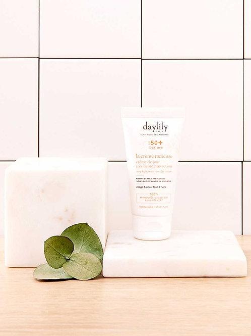 La Crème Radieuse - Crème de Jour SPF 50+ ☆ DAYLILY
