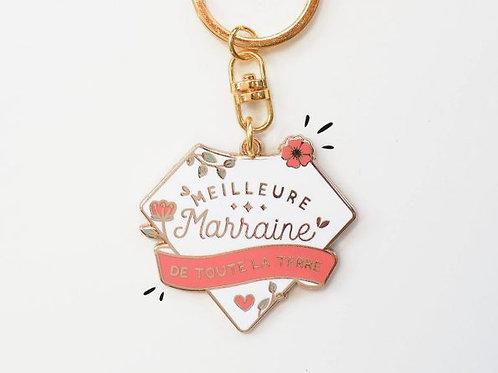 "Porte clefs ""Marraine"" ☆ Manahia"