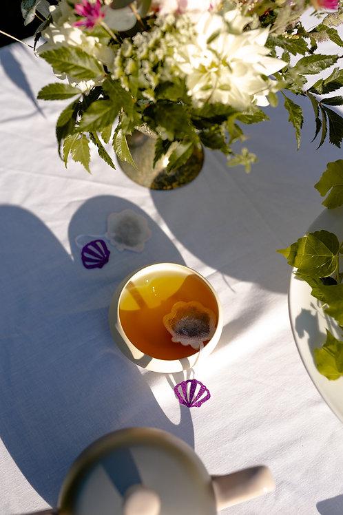 "Sachet de thé ""COQUILLAGE"" ☆ Tea Heritage"