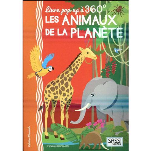 POP-UP 360° Les animaux de la planète