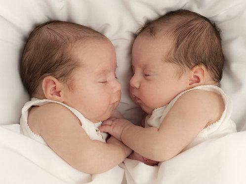 Séance découverte massage bébé JUMEAUX/JUMELLES ☆ Choux & Grenadine