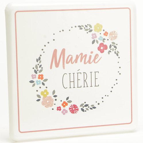 """Plaque décorative """"Mamie"""" ☆ AMADEUS"""