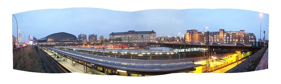 GERMANY HAMBURG Train Station Atelier Mo