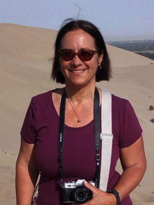 Chine Dunhuang Les dunes du lac du crois