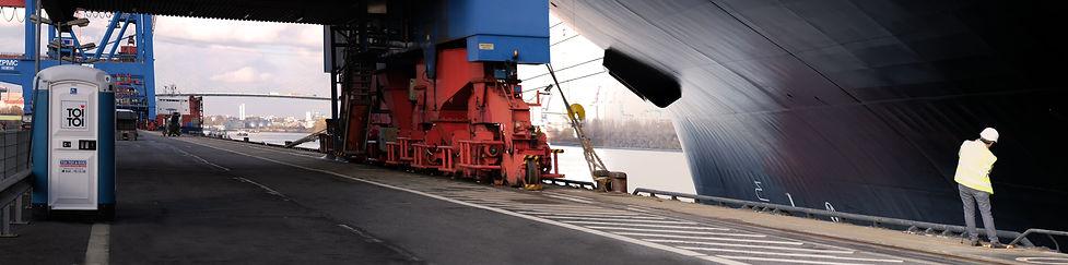 Hambourg Container Terminal Altenwerder
