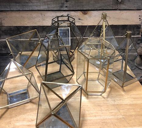 Small & Medium Geo Lanterns